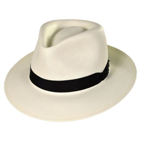 Bailey Konrath Shantung LiteStraw Fedora Hat