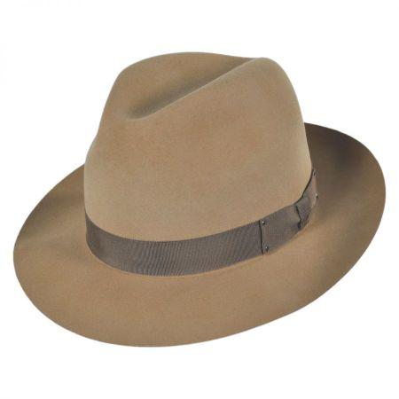 Draper III Fur Felt Fedora Hat alternate view 7