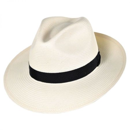 Bailey Blackburn Shantung LiteStraw Fedora Hat