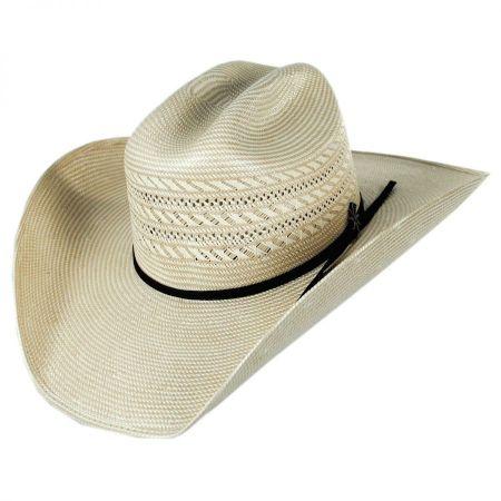 Bailey Vinton 20X Shantung Straw Western Hat