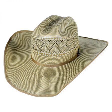 Jax 15X Shantung Straw Western Hat