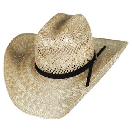 Bailey Kace 10x Straw Western Hat