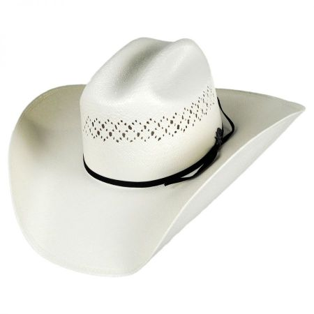 Bailey Evers 10x Toyo Straw Western Hat