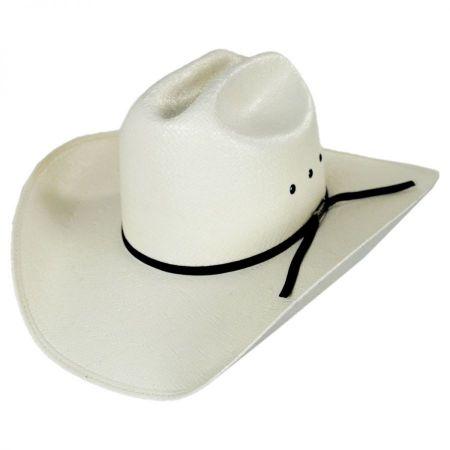 Cutter Toyo Straw Western Hat