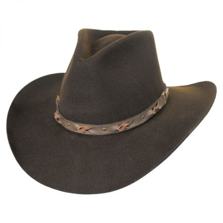 Navarro Wool Felt Western Hat alternate view 2