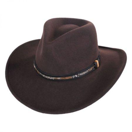 Bailey Recoil Wool LiteFelt Western Hat