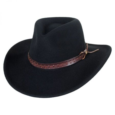 Bailey Firehole Crushable Wool LiteFelt Western Hat