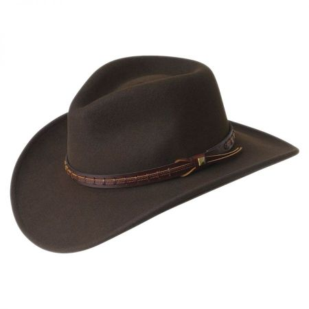 Firehole Crushable Wool LiteFelt Western Hat