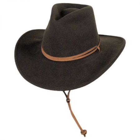 Joe Eder Wool LiteFelt Western Hat alternate view 14