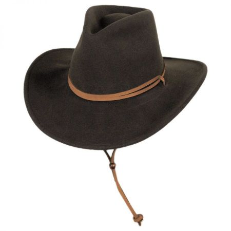 Joe Eder Crushable Wool LiteFelt Earflap Western Hat alternate view 20
