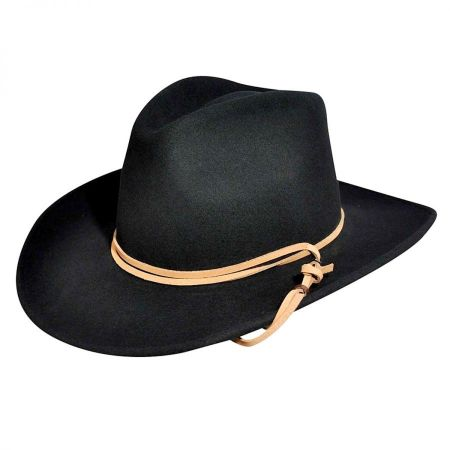 Joe Eder Wool LiteFelt Western Hat alternate view 13