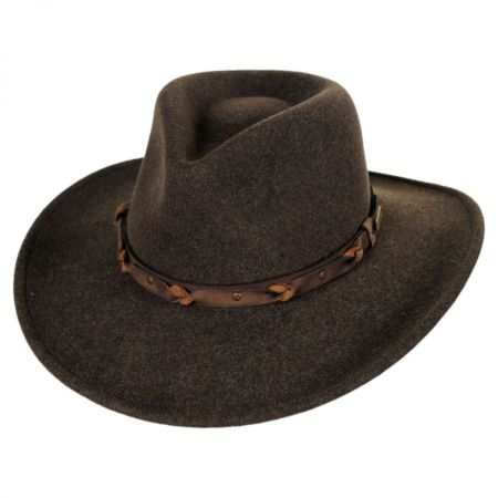 Palisade Crushable Wool LiteFelt Western Hat alternate view 12