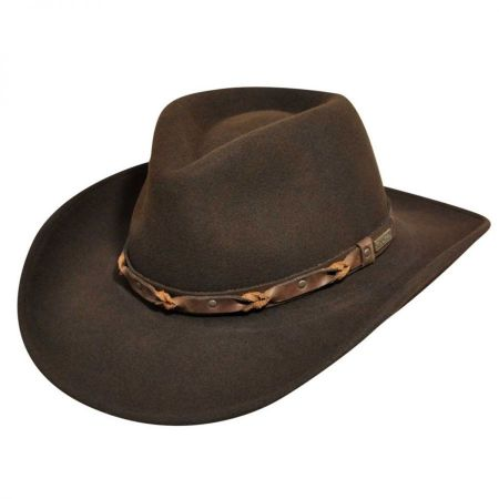Palisade Crushable Wool LiteFelt Western Hat alternate view 8