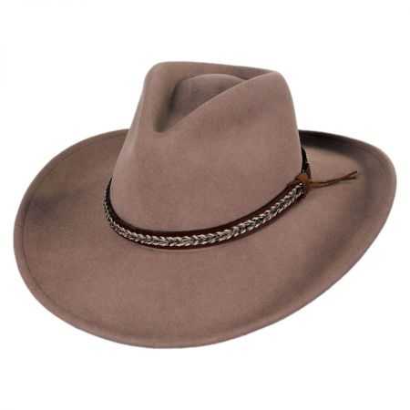 Nock Crushable Wool LiteFelt Western Hat