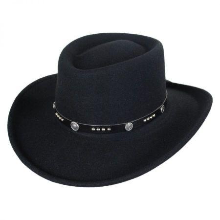 Joker LiteFelt Wool Gambler Western Hat alternate view 1