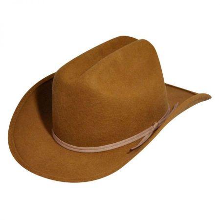 Kids' Bronco Jr Wool Felt Western Hat alternate view 5