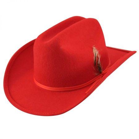 Kids' Bronco Jr Wool Felt Western Hat alternate view 6