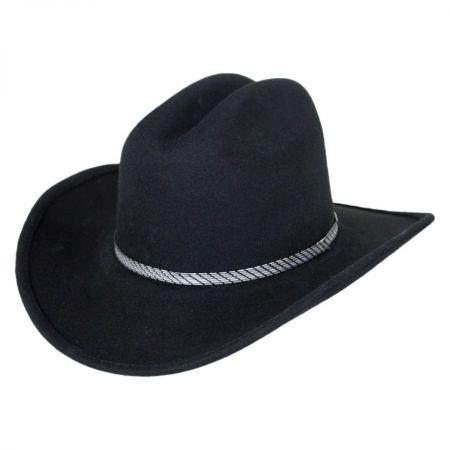 Eddy Bros Kids' Rowdy Wool Felt Western Hat