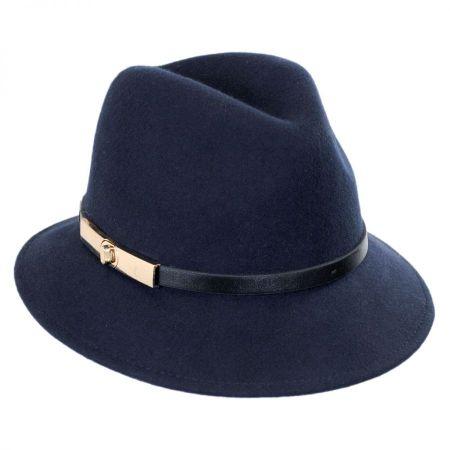 Betmar Darcy Wool Felt Fedora Hat
