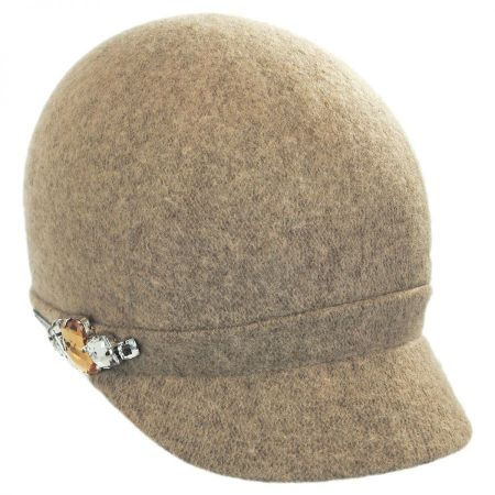 Rhinestone Wool Cap alternate view 9