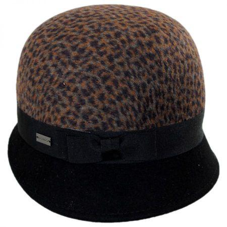 Betmar Fara Wool Blend Cloche Hat