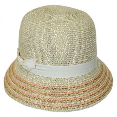 Tricia Straw Cloche Hat alternate view 2