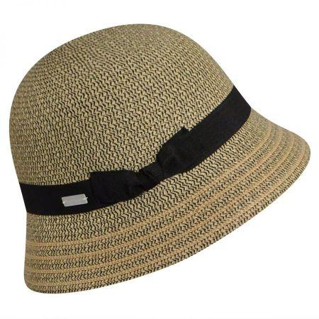 Tricia Straw Cloche Hat