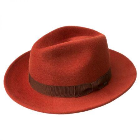 Bailey Criss Long Teardrop Fedora Hat