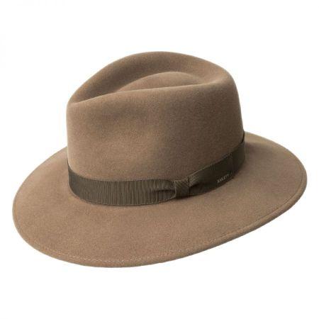 Ammon Wool Felt Teardrop Fedora Hat