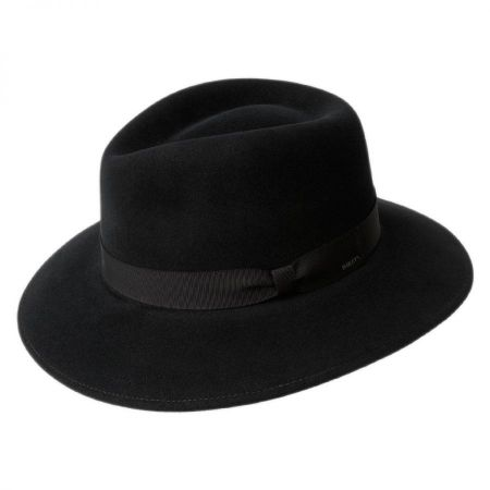 Ammon Wool Felt Teardrop Fedora Hat alternate view 3