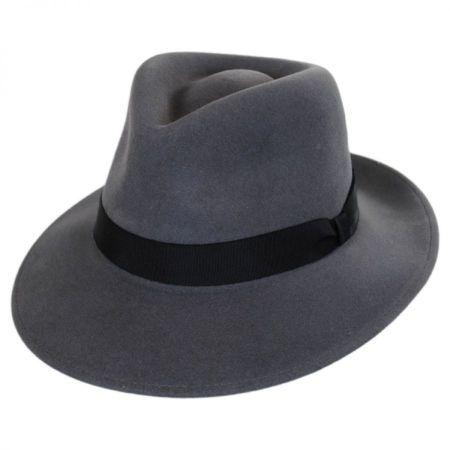 Ammon Wool Felt Teardrop Fedora Hat alternate view 13