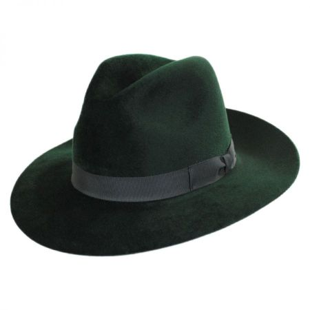 Lydon Fur Felt Fedora Hat alternate view 1