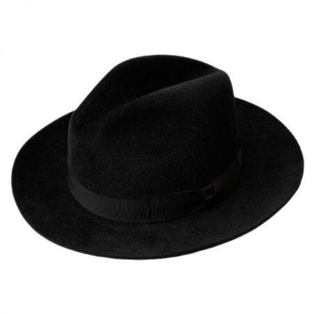 Lydon Fur Felt Fedora Hat alternate view 1