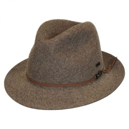 Snap Mylo Wool Felt Fedora Hat alternate view 1