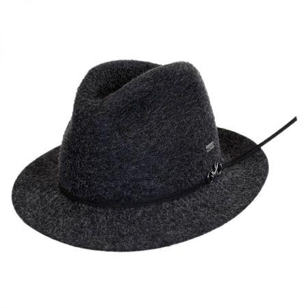 Snap Mylo Wool Felt Fedora Hat alternate view 13