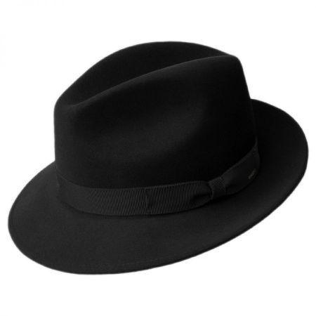 Winters Elite Wool Felt Fedora Hat alternate view 2