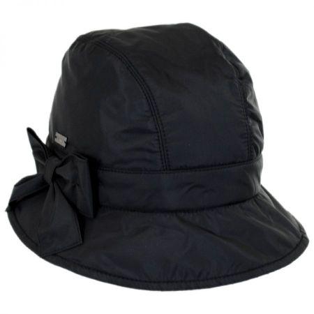 Betmar Maggie Poly Rain Cloche Hat