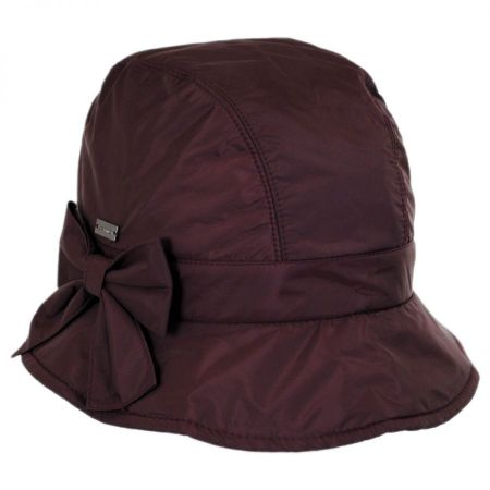 Maggie Poly Rain Cloche Hat alternate view 6