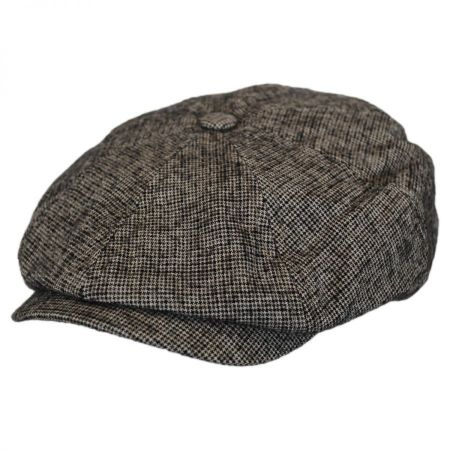 Bailey Rockburn Wool and Cotton Newsboy Cap