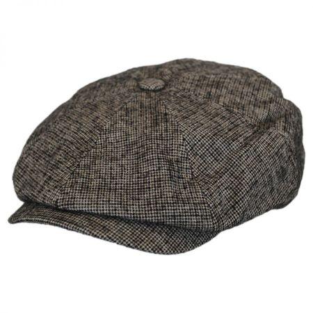 Wool Brown Newsboy Cap at Village Hat Shop 2a8855c203a