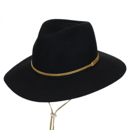 Logan Wool LiteFelt Aussie Fedora Hat alternate view 1