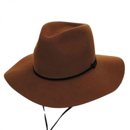 Logan Wool LiteFelt Aussie Fedora Hat alternate view 15