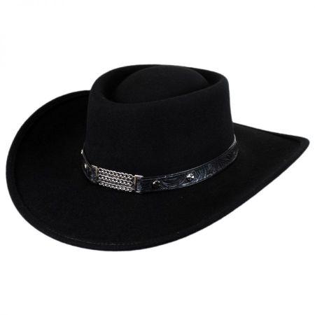 Little Joe Wool Felt Gambler Western Hat