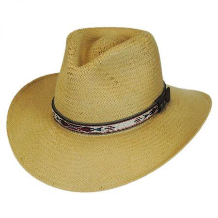Bailey Derian Raindura Straw Outback Hat