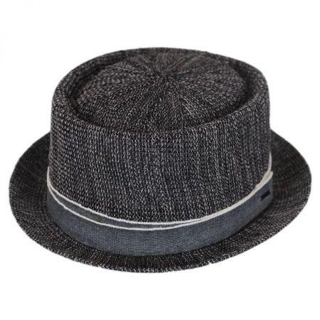 Bailey Runkle Toyo Straw Blend Pork Pie Hat