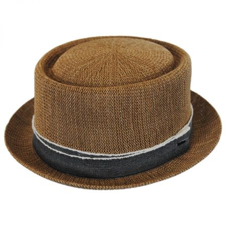 Runkle Toyo Straw Blend Pork Pie Hat