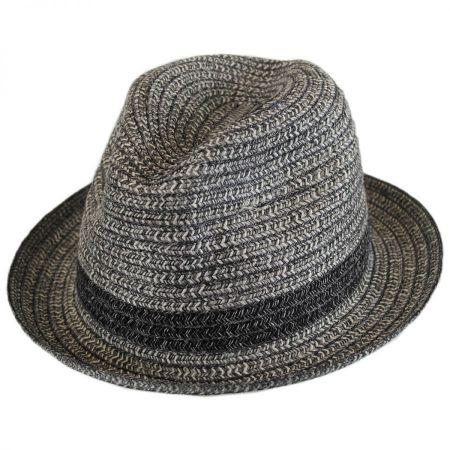 Truro Toyo Straw Blend Trilby Fedora Hat alternate view 1