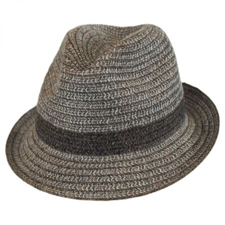 Truro Toyo Straw Blend Trilby Fedora Hat alternate view 9