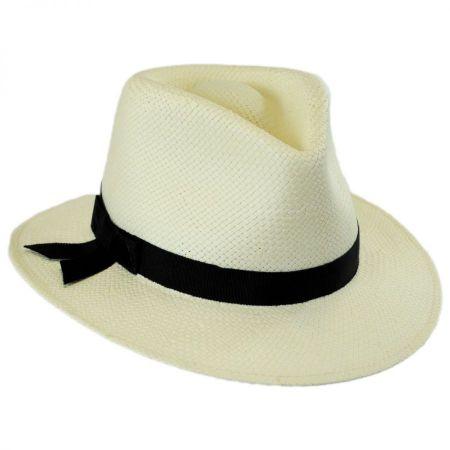 Betmar Laura II Toyo Straw Fedora Hat