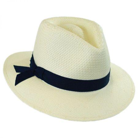 Laura II Toyo Straw Fedora Hat
